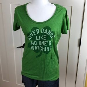 Chive graphic tee, size xl